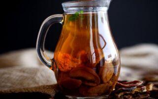 Компот из сухофруктов: вкусный и полезный напиток