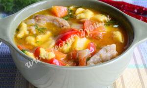 Венгерский суп — Бограч
