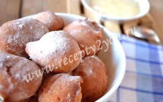 Пончики (простой рецепт)