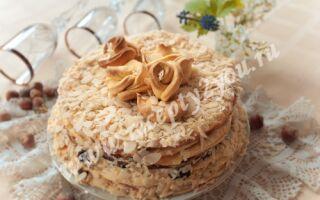 Домашний торт Наполеон