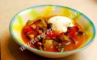 Итальнский суп «Минестроне»
