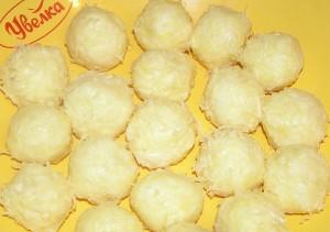 шарики из сыра