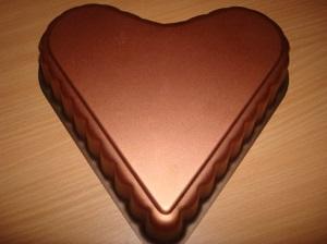 Шоколадное желе на День Святого Валентина