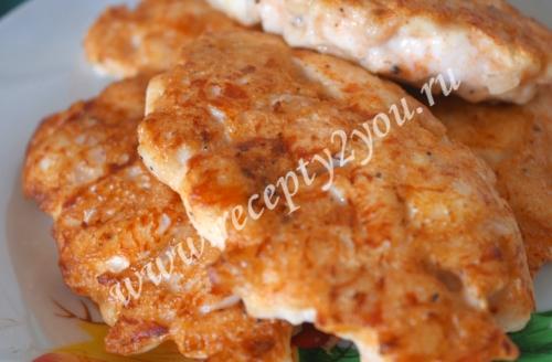Оладьи из куриного филе с фото