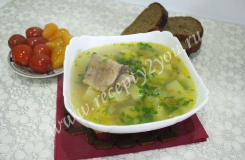 Суп с говяжьими ребрышками рецепт