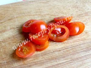 салат с помидорами черри фото 1