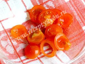 салат с помидорами черри фото 2