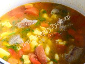 венгерский суп - Бограч фото 11