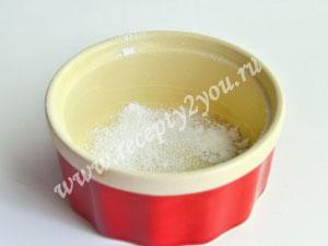 Клубничное суфле. Рецепт с пошаговым фото 1