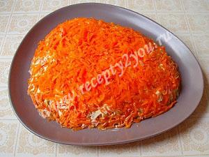салат Мимоза с горбушей фото 8