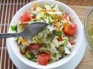 салат витаминный с капустой фото 5