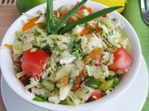 салат витаминный с капустой фото 6