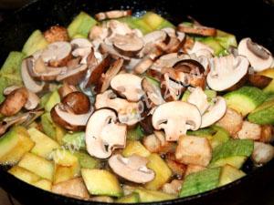 овощное рагу с мясом и грибами фото 8