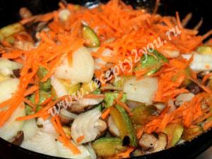 овощное рагу с мясом и грибами фото 9
