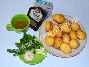 Молодой картофель с чесноком запеченный в духовке фото 1