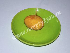 Молодой картофель с чесноком запеченный в духовке фото 5