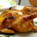 Курица в сметане с чесноком