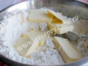 Тертый пирог с персиками фото 4
