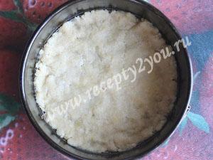 Тертый пирог с персиками фото 8