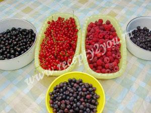 Компот из малины и смородины на зиму фото 1