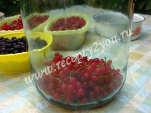 Компот из малины и смородины на зиму фото 2