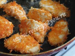 Куриные наггетсы рецепт с фото 6