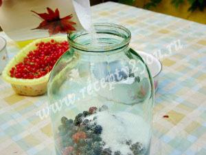 Компот из малины и смородины на зиму фото 7