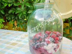 Компот из малины и смородины на зиму фото 9