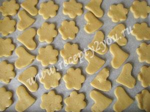 Песочное печенье простой рецепт фото 8
