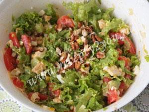 Салат из курицы с яйцом фото 6