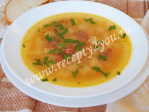 Суп с колбасой фото 7