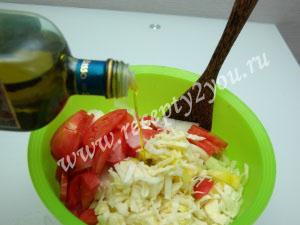 Салат из капусты помидоров и огурцов на зиму фото 9