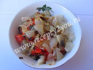 Салат с баклажанами и сыром фото 13