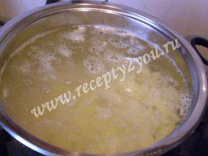 Постный суп с фасолью фото 3