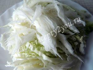 Суп с пекинской капустой фото 6