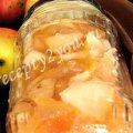 Заготовка из яблок для пирогов на зиму