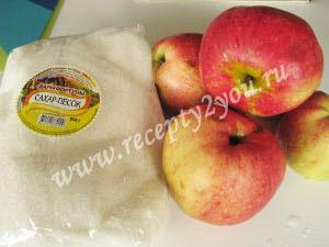 Заготовка из яблок для пирогов на зиму фото 1