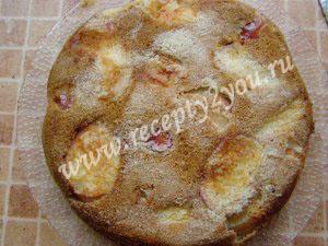 Вкусная  шарлотка с яблоками фото 10