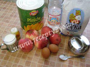 Вкусная  шарлотка с яблоками фото 1