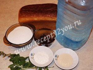 Хлебный квас в домашних условиях фото 1