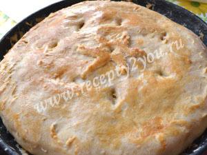 Пирог с капустой на кефире фото 9