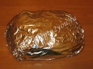 Семга запеченная в духовке в фольге фото 10