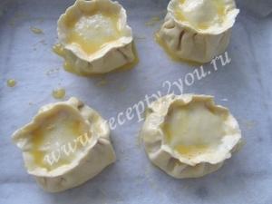 Пирожки с грибами и сыром фото 11