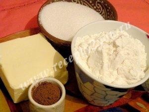 Шоколадное печенье с кремом фото 1