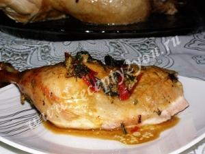 Цыпленок в рукаве фото 12