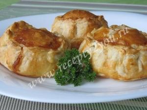 Пирожки с грибами и сыром фото 12
