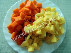 Овощной суп с тыквой фото 2
