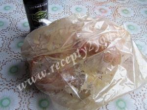 Цыпленок в рукаве фото 5