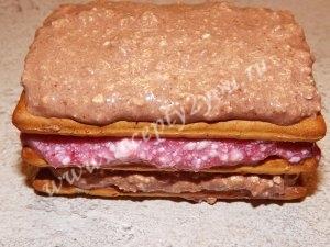 Пирожные из печенья без выпечки фото 6