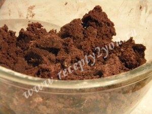 Шоколадное печенье с кремом фото 7